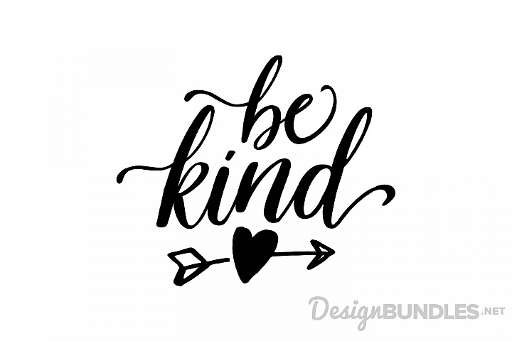 Be Kind example 1