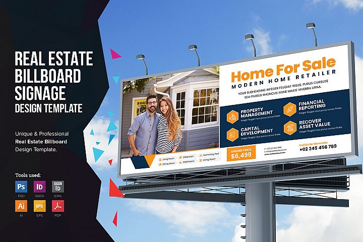 Real Estate Billboard Signage v2