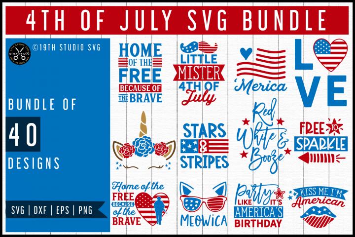 4th of July SVG Bundle | MB55