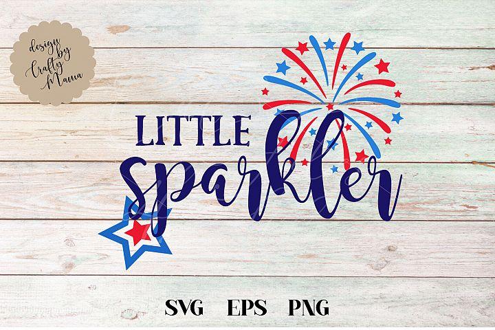 Little Sparkler Baby, 4th Of July SVG