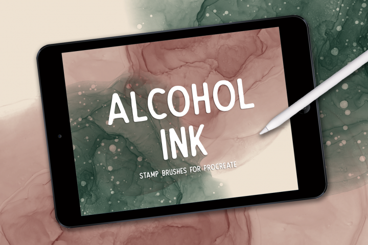 ALCOHOL INK STAMPS FOR PROCREATE