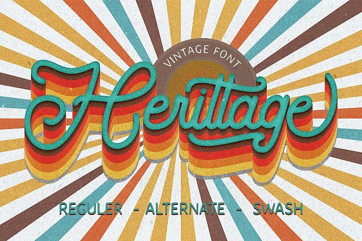 Herittage - Vintage Font