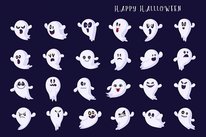 Halloween Ghosts emoji!