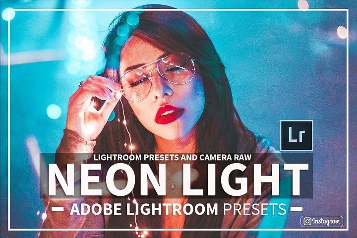 Neon Nights Adobe Lightroom Preset Collection & Camera Raw