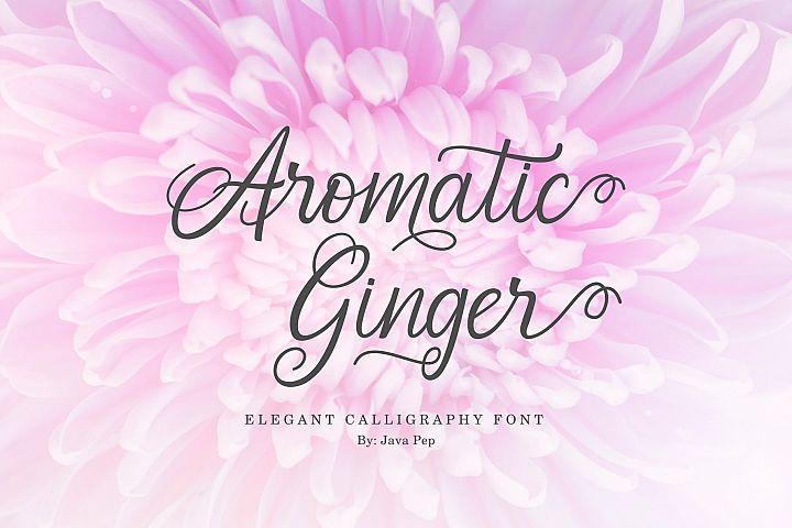 Aromatic Ginger