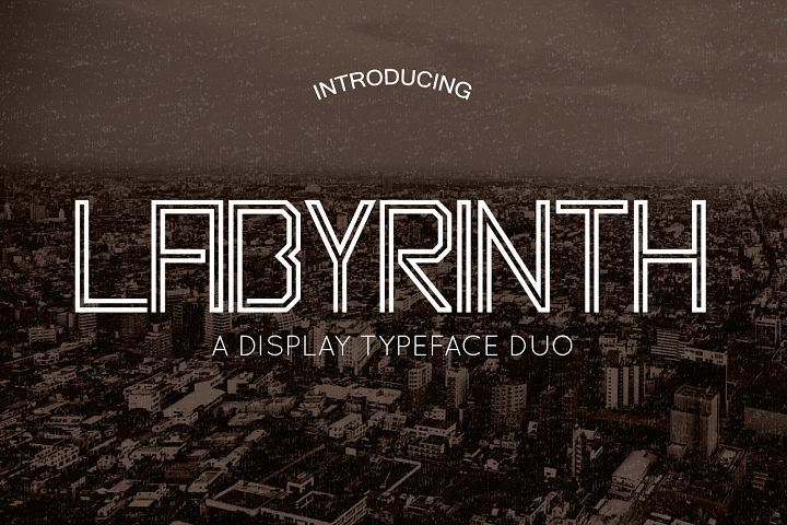 Labyrinth Typeface