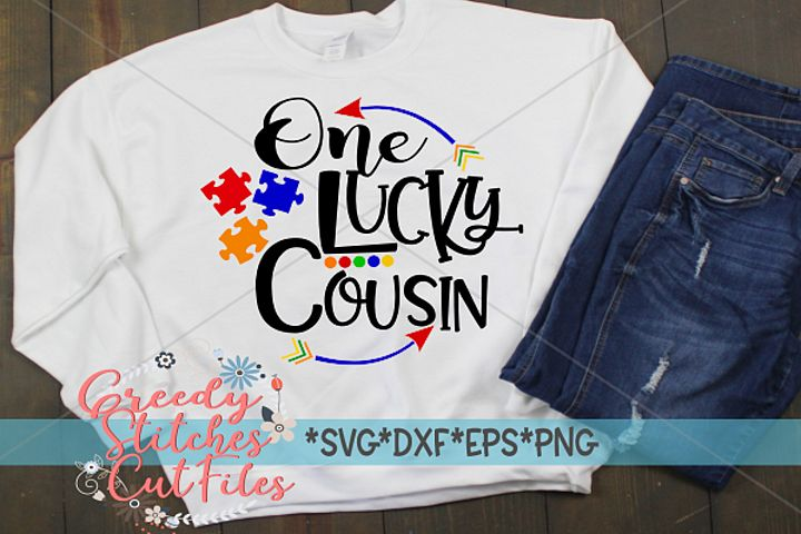 Autism Awareness | One Lucky Cousin Cut File