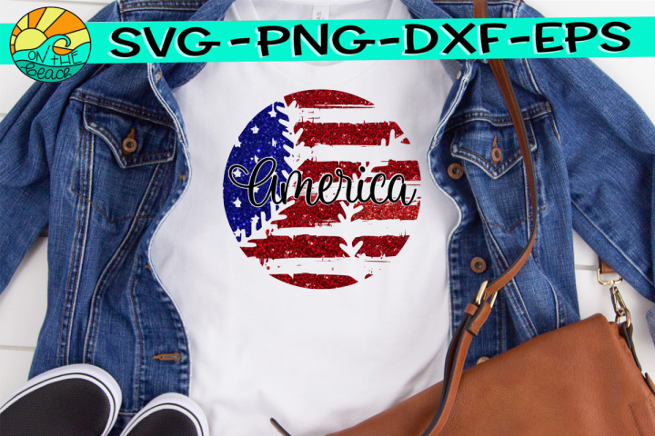 Baseball - Flag - Grunge - Distressed - SVG - DXF - EPS -PNG