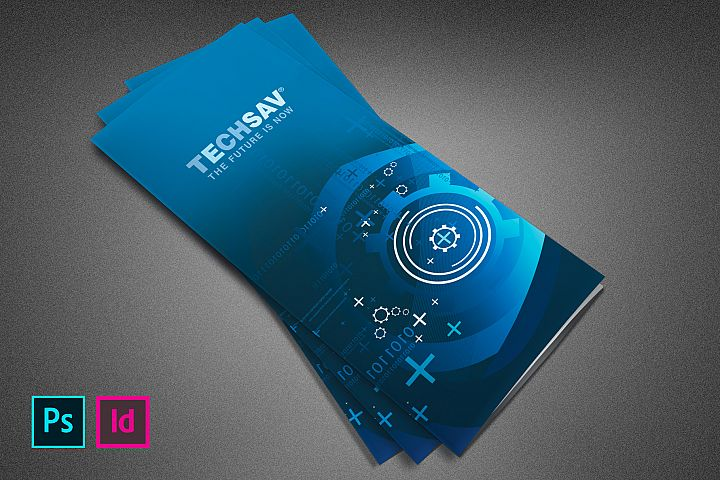Techsav Tri-fold Corporate Brochure