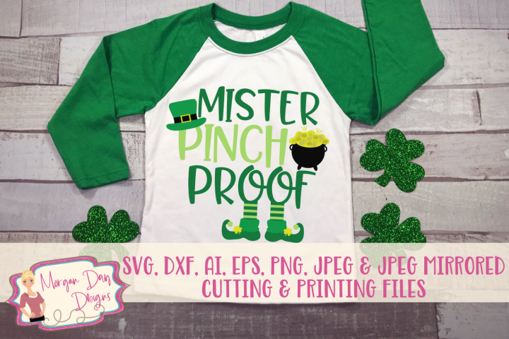 Mister Pinch Proof - St Patricks Day SVG, DXF, AI, EPS, PNG