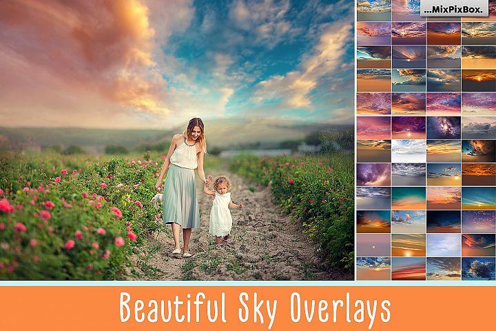 Beautiful Sky Overlays