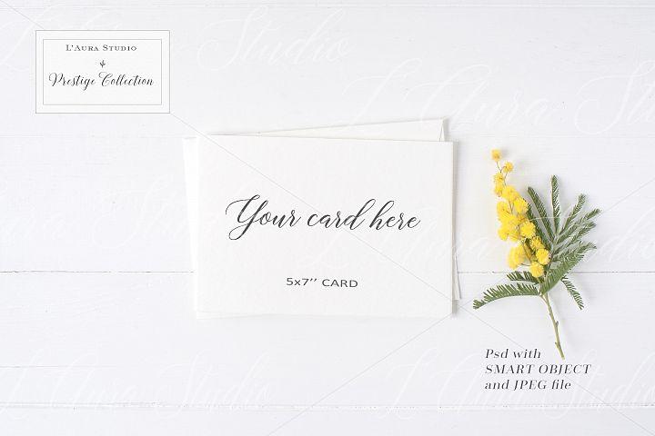 Floral Stationery Mockup - crd230