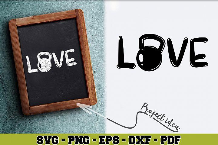 Gym SVG n256 | Love gym