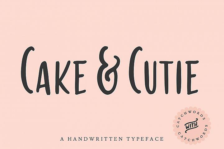 Cake & Cutie | A Handwritten Typeface