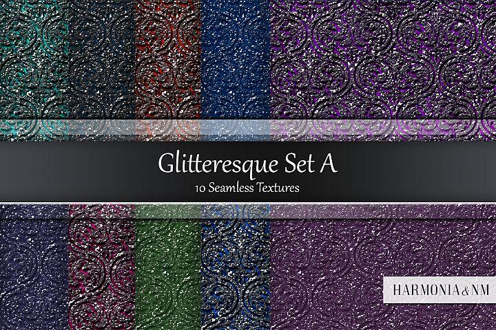 Glitteresque Damask Set A 10 Seamless Textures