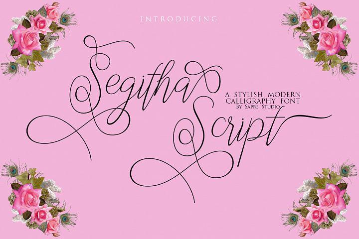 Segitha Script