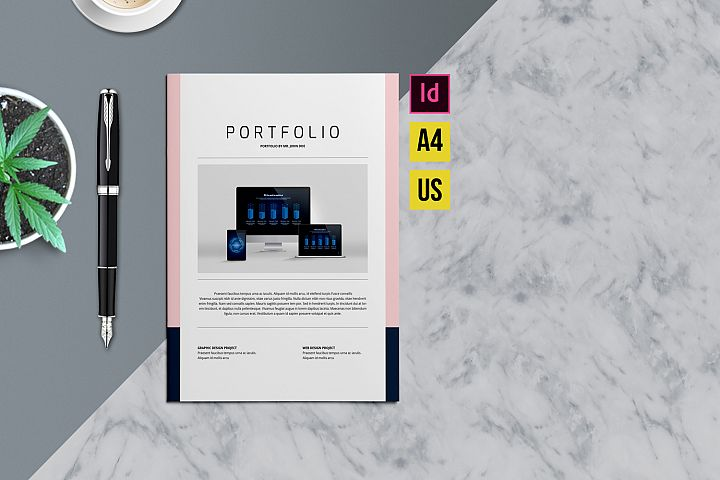 Designer Portfolio-48 Pages