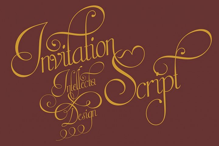 Invitation Script - Free Font of The Week