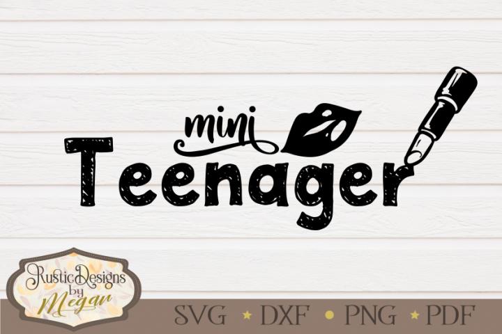 Mini Teenager SVG - cut file