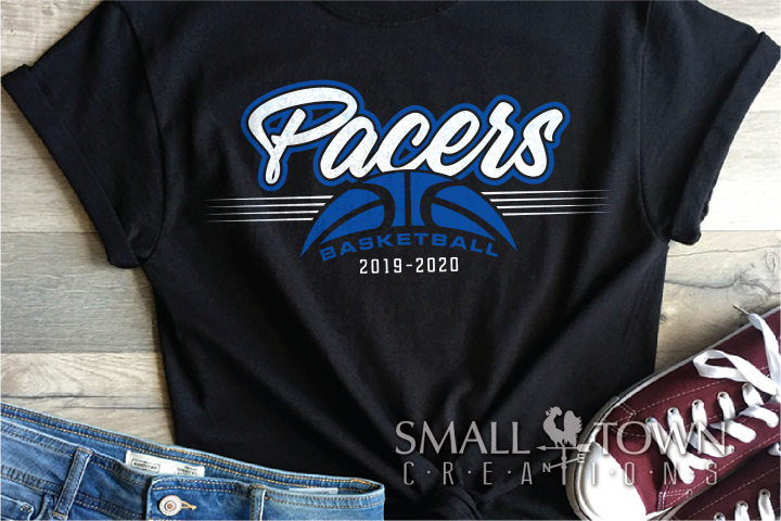 Pacer, Pacer Basketball, Sports, Design, PRINT, CUT, DESIGN