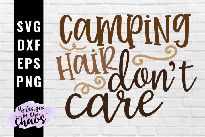 Camping SVG PNG EPS DXF | Camp SVG