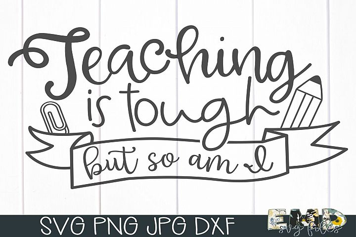 Teaching Svg File | Back To School Svg