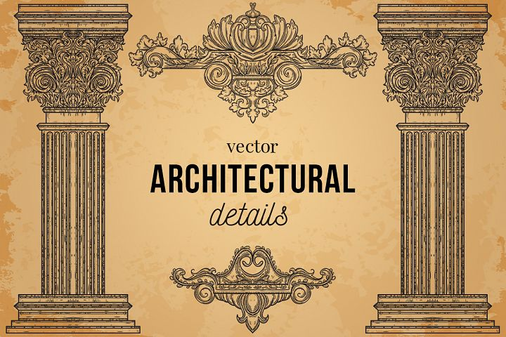 Vector architectural details