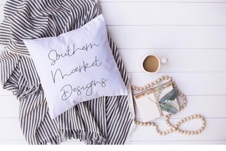 Mockup | Blank Pillow Mockup | Mockup | Throw Pillow Mockup