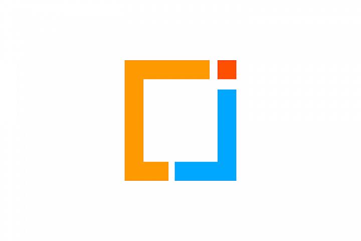 cj letter logo