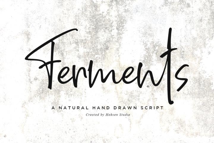 Ferments // Handwritten Scripts