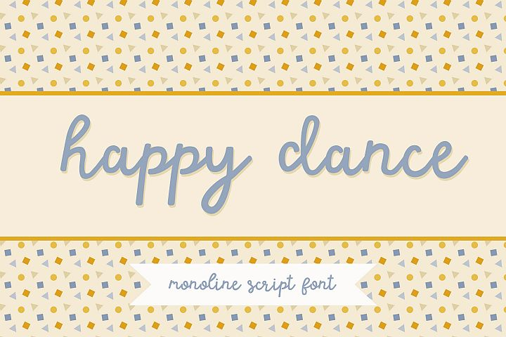 Happy Dance Script Font