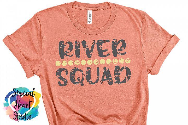River Squad- A river camping crew SVG