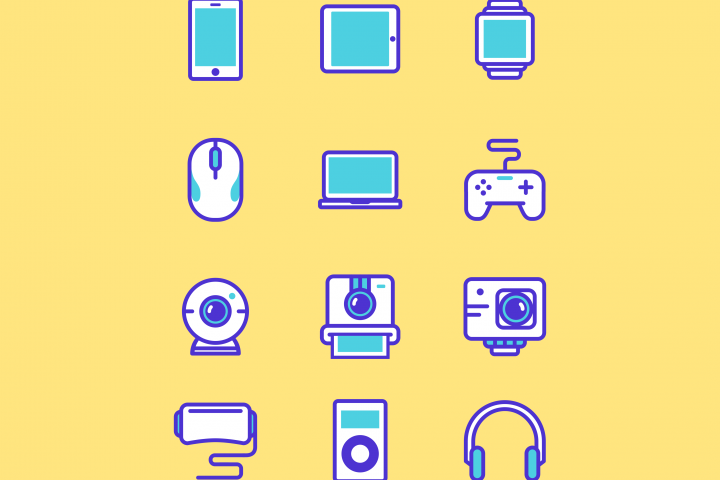 Gadget Multimedia Iconset
