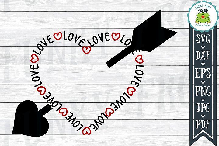 Love Heart - Valentine SVG Cut File