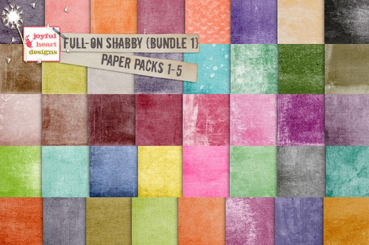 Full-On Shabby {Bundle One}