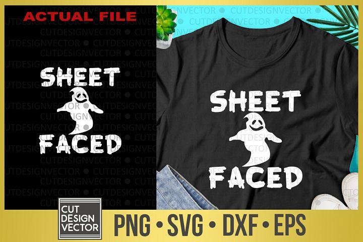 Sheet Faced SVG