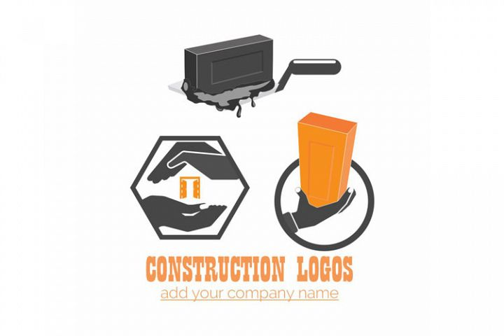 VECTOR CONSTRUCTION LOGO DESIGN