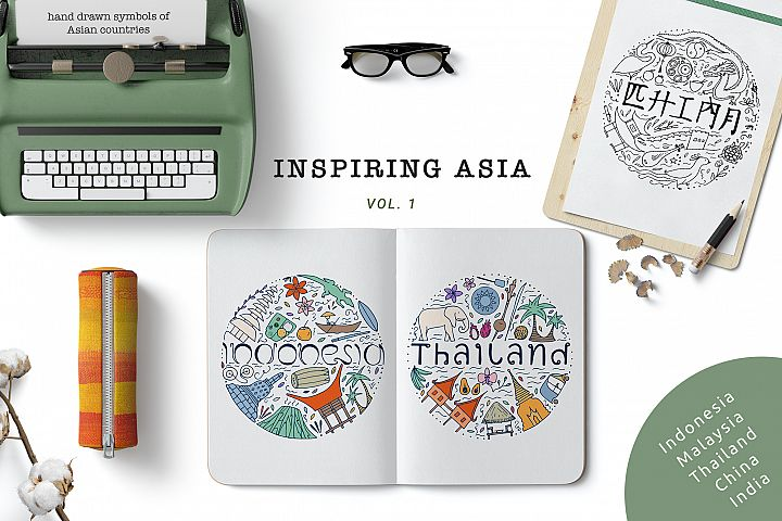 Inspiring Asia design collection
