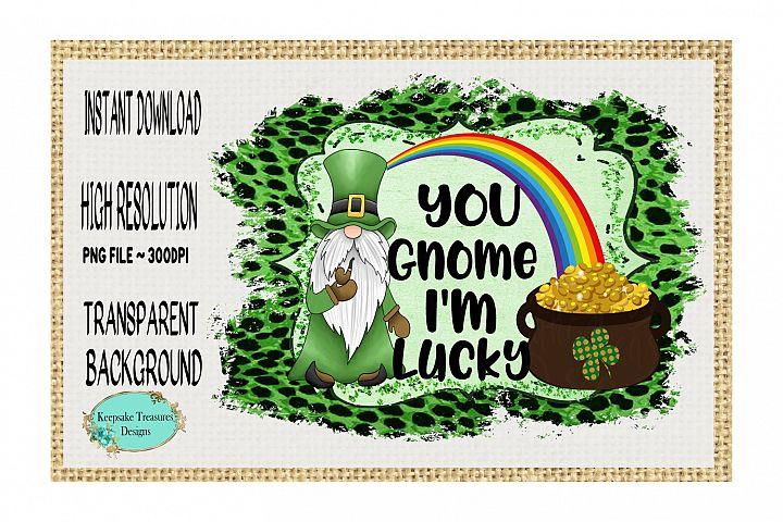 You Gnome Im Lucky