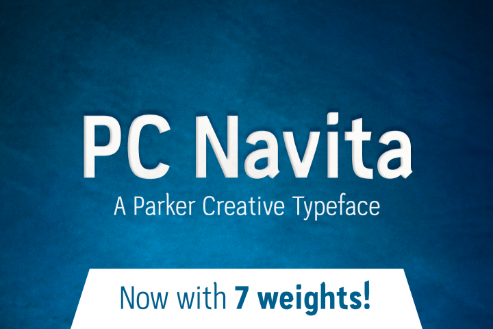 PC Navita Friendly Geometric Font