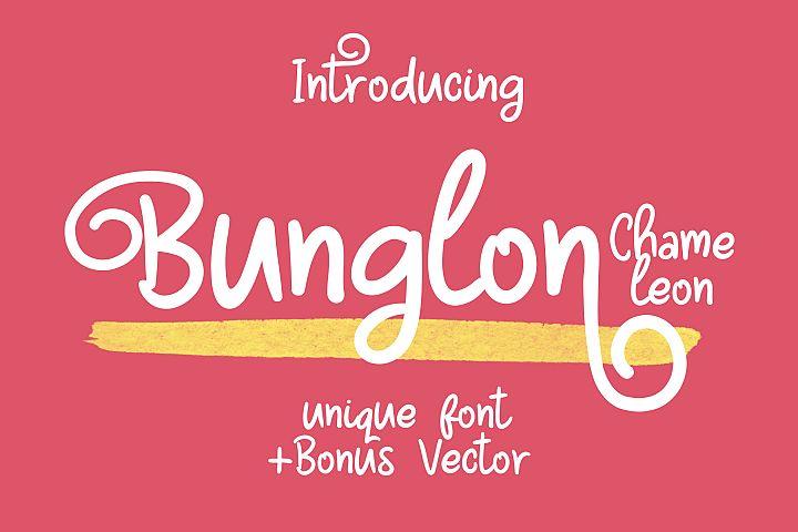Bunglon Chameleon + Bonus Vector