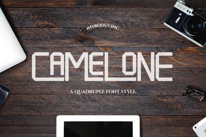 Camelone - Free Font of The Week Font