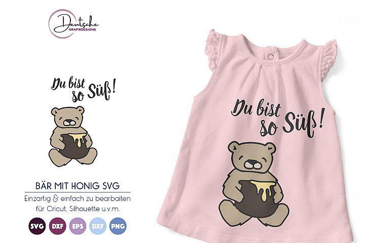Bär SVG | Du bist so Süß