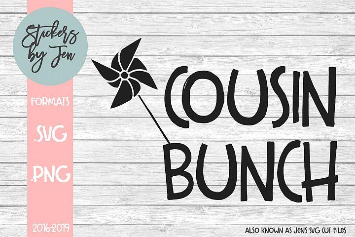 Cousin Bunch SVG Cut File