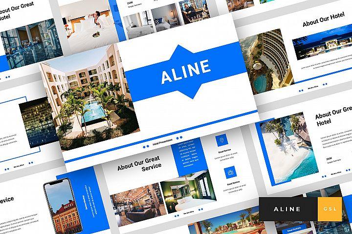 Aline - Hotel Google Slides Template