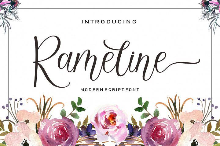 Rameline Script