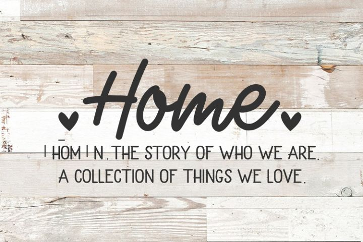 Family Farmhouse sign svg - Home The Story of Who We Are svg