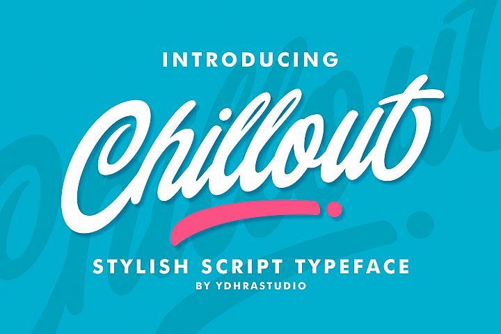 Chillout Typeface Bonus Swash