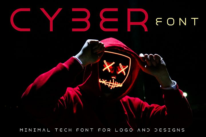 Cyber World - Minimal Font for Modern Designs