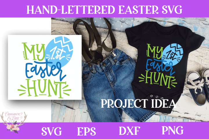 Easter SVG - My First Easter Hunt SVG